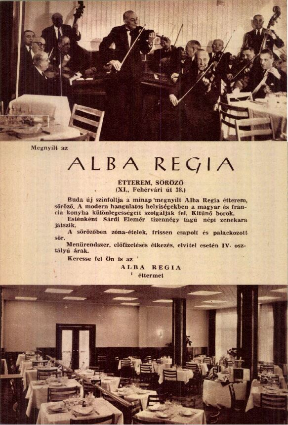 Alba Regia étterem