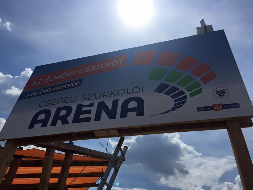 üdvözöl a Csepeli Szurkolói Aréna