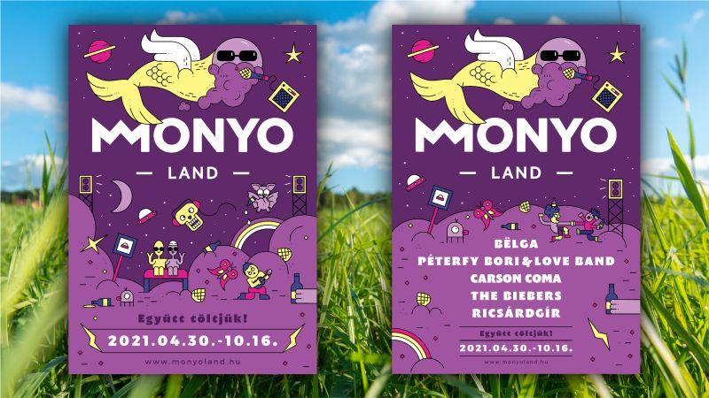 Monyo Land szórólap
